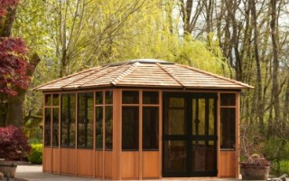Vantage Pools and Spas is an official Visscher Gazebo Dealer. We offer open air, semi and fully enclosed gazebos, and pergolas for Langley, Surrey and Maple Ridge